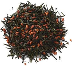 さわやかな風味の煎茶と香ばしい入り米をブレンドしたお茶