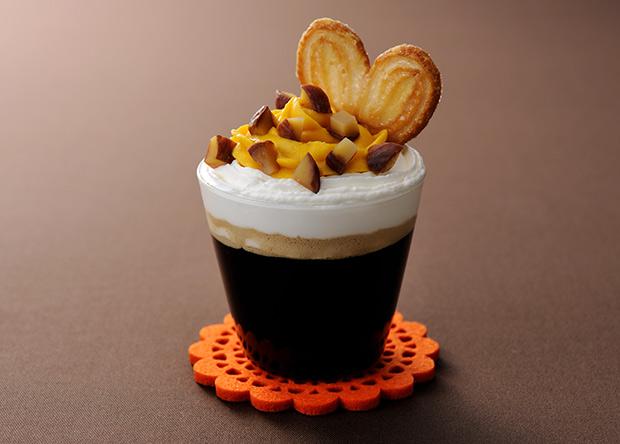 パンプキンパイ風コーヒー
