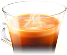 ネスカフェドルチェグストは専用カプセルに厳選した香り豊かな挽き立てのコーヒー豆を酸素を抜いて密封しています