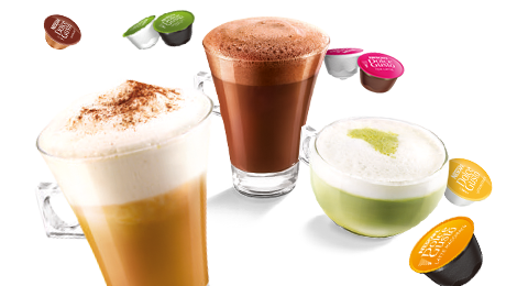 「ドルチェグスト」のコーヒーは種類豊富