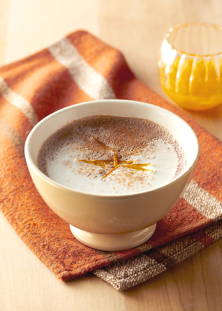 【レシピ】ドルチェグストで作る、オレンジチョコチーノ