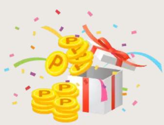 「離れて暮らす家族の方へのプレゼント」として、このサービスに本申し込みいただいた方にはショッピングポイント 1,000pt プレゼント!
