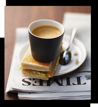 エスプレッソからロングカップ、カフェインレスやフレーバーコーヒーとさまざまなシーンや気分によってお選びいただけます