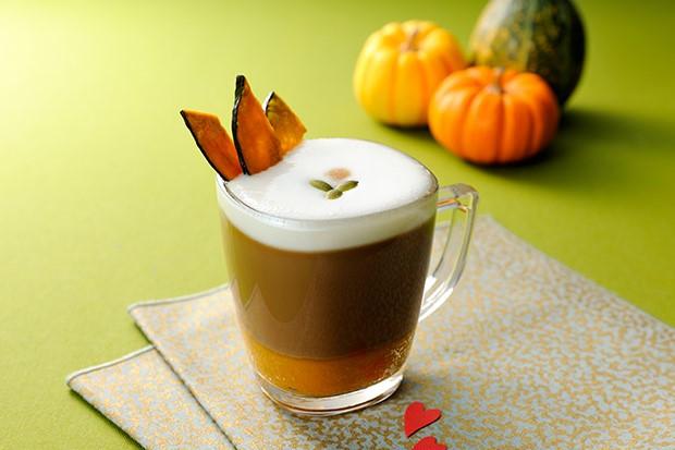 【レシピ】バリスタで作る ブライトdeかぼちゃのキャラメルラテ