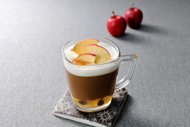 【レシピ】バリスタで作る おとなのブライトdeアップルシナモンラテ