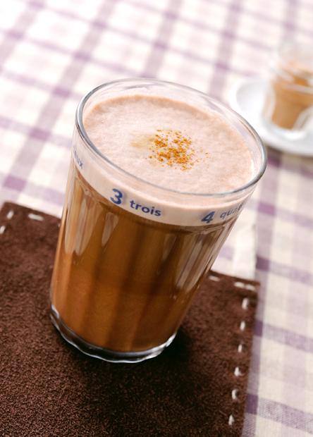【レシピ】バリスタで作る ホットカフェモカ