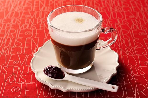 【レシピ】バリスタで作る ブライトdeラズベリーショコラテ