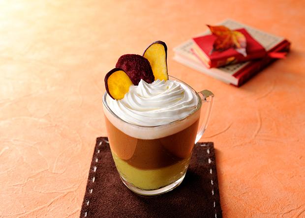 【レシピ】バリスタで作る ブライトdeデザートラテ スイートポテト