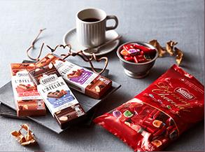 スイスのチョコレート 4種類 お試しセット