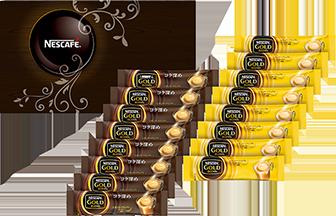 ネスカフェ ゴールドブレンド プレミアム スティックコーヒー ギフトセット NJ-YS