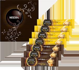ネスカフェ ゴールドブレンド プレミアム スティックコーヒー ギフトセット NE-YS
