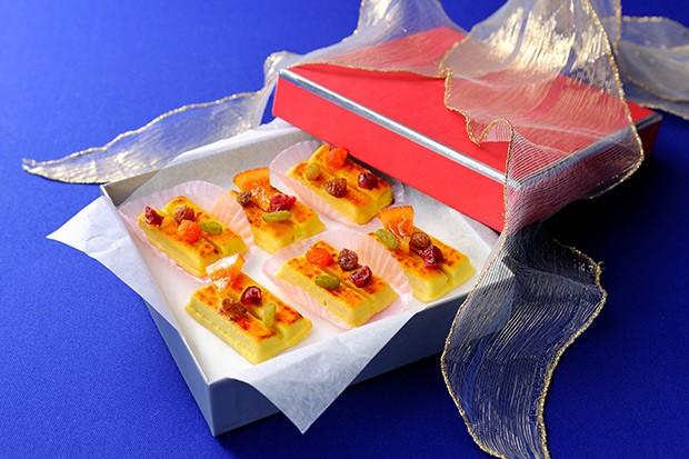【レシピ】ドライフルーツの焼きキットカットスイートポテト味