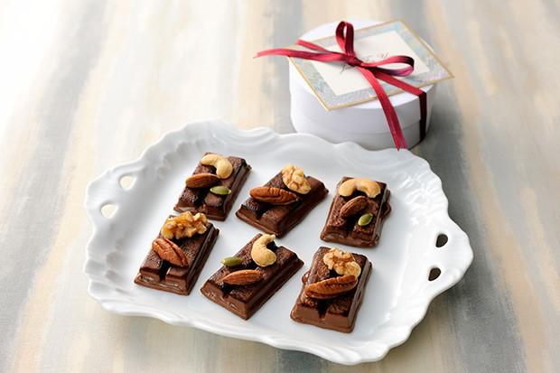 【レシピ】ナッツの焼きキットカット