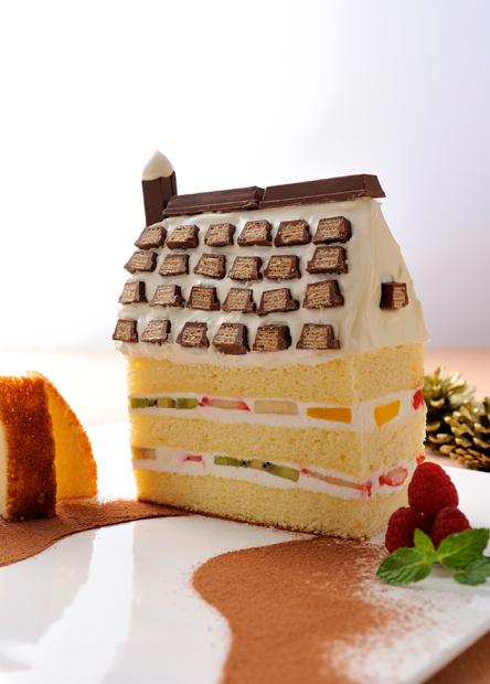 【レシピ】お菓子の家のクリスマスケーキ