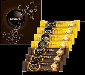 ネスカフェ ゴールドブレンド プレミアムスティックコーヒー ギフトセットNE-YS