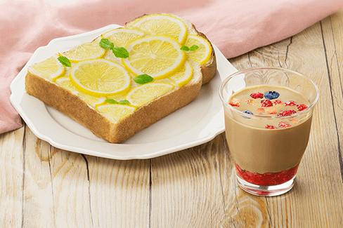 【レシピ】簡単!カフェ風朝食レシピ♪ネスカフェ×パスコで「ベリーカフェラテ×爽やかレモントースト」デリッシュキッチンとのコラボ動画!