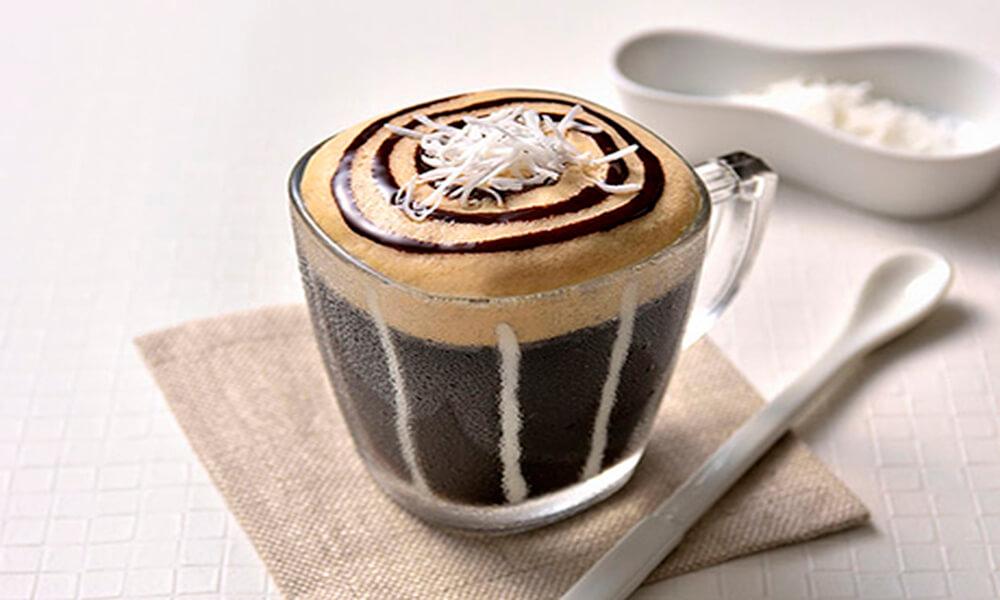 【レシピ】ココナッツ風味のアイスクレマカフェモカ
