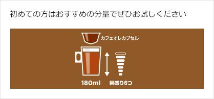 カフェオレの作り方