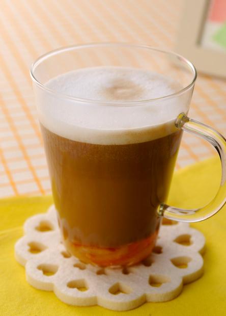 【レシピ】バリスタで作る オレンジカフェ