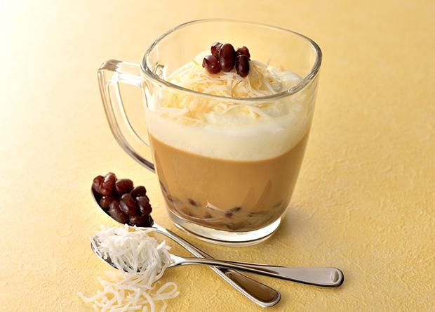 【レシピ】「バリスタアイ」で作る ブライトdeココナッツ風味のあんラテ